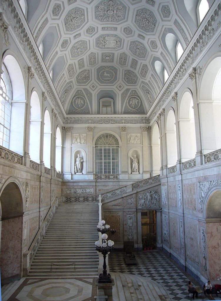 Palazzo Reale Scalone