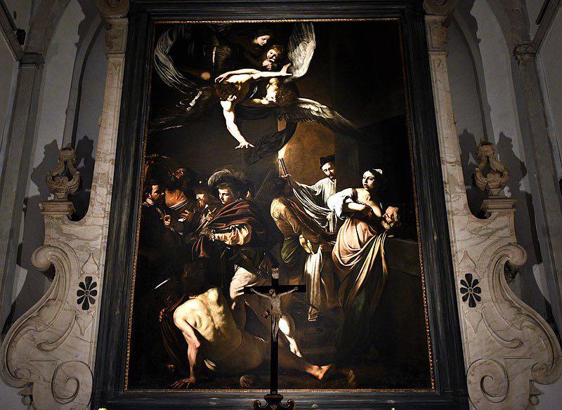 Caravaggio a Napoli