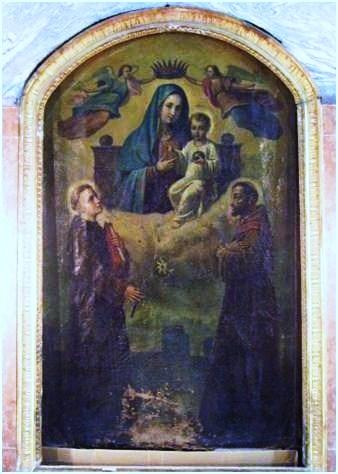 Napoli esoterica Madonna delle Mosche
